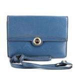 Louis Vuitton Pochette Arche Convertible Clutch in Toledo Blue Epi Leather