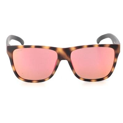 Smith Lowdown XL 2 Polarized Sunglasses in Matte Honey Tortoise with Case