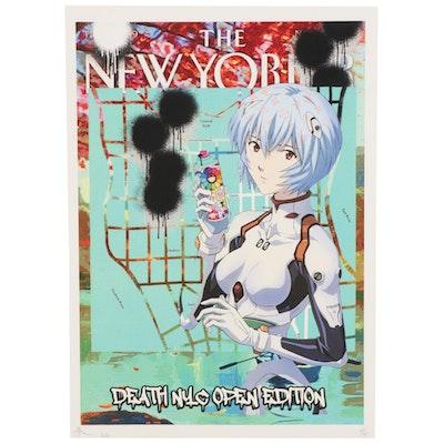 """Death NYC Pop Art Offset Lithograph """"OPXA3,"""" 2020"""