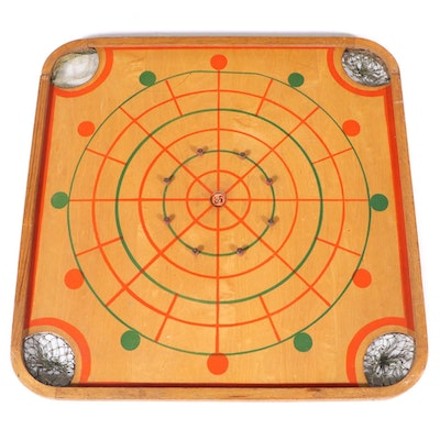 """Carrom Industries Inc. """"85"""" Double-Sided Game Board, Mid-20th Century"""