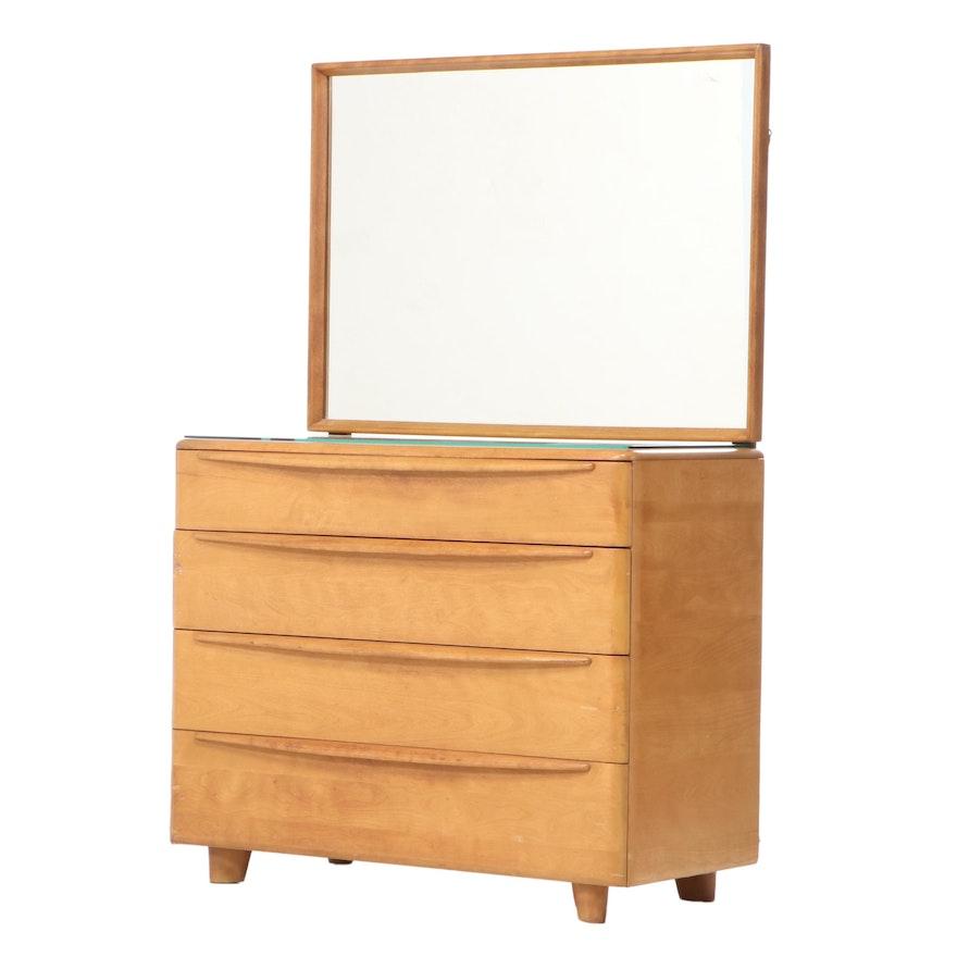 Heywood Wakefield Birch Dresser, Mid-20th Century