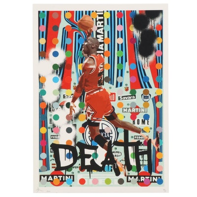 Death NYC Michael Jordan Pop Art Graphic Print, 2020