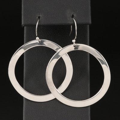 Ippolita Sterling Silver Wavy Circle Earrings
