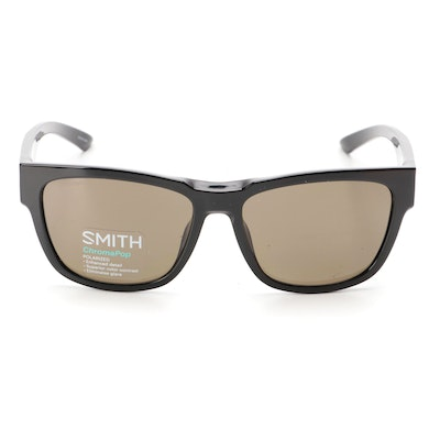 Smith Ember ChromaPop Polarized Sunglasses in Black with Slipcase and Box