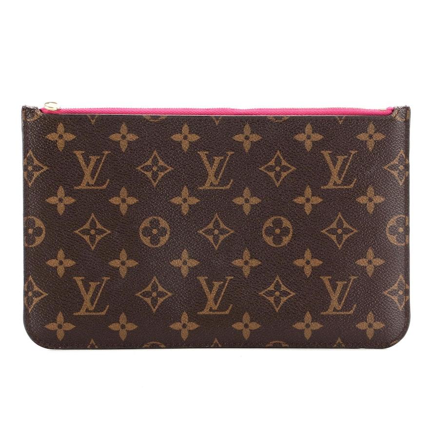 Louis Vuitton Neverfull GM Pochette in Monogram Canvas
