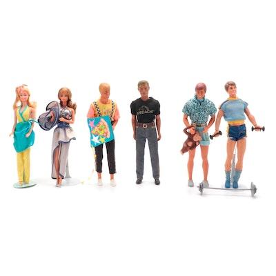 Mattel Barbie Doll My First Barbie, Dream Date P.J., Others, 1980s