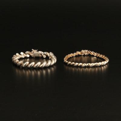 Sterling San Marco Bracelets