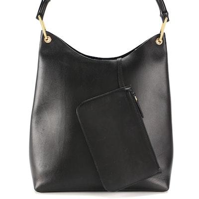 Gucci Bamboo Black Leather Shoulder Bag