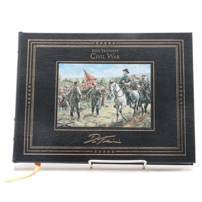"""Signed Limited Edition """"Don Troiani's Civil War"""" by Brian C. Pohanka, 1995"""