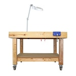 Artisan Made Movable Workbench Table