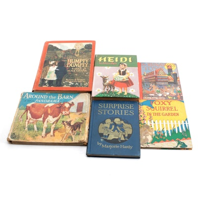 """Children's Books Including """"Humpty Dumpty,"""" Early to Mid-20th Century"""