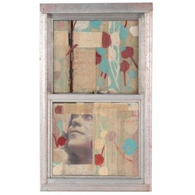 Rachel Hallas Mixed Media Collage