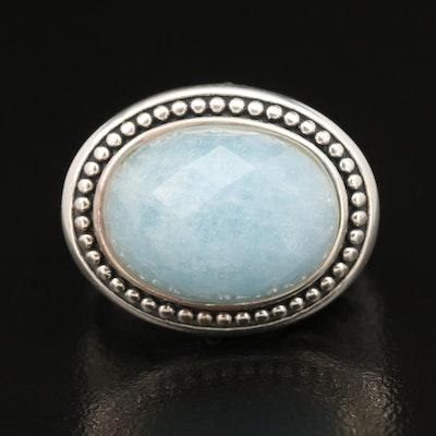SeidenGang Sterling Silver Aquamarine Ring