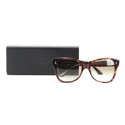 Cutler and Gross 1161 Havana Sunglasses with Case