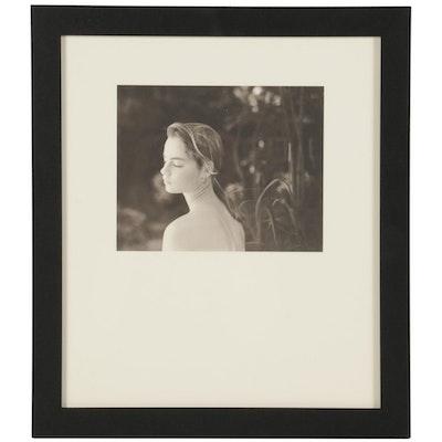 """Jock Sturges Portrait Photogravure for """"21st Editions,"""" 1998"""