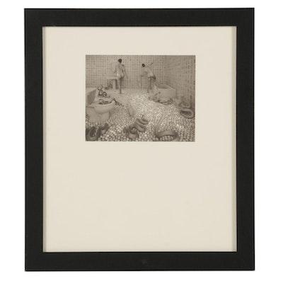 "Sandy Skoglund Photogravure ""Walking on Eggshells"" for ""21st Editions,"" 1998"