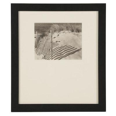 "Steven Albahari Photogravure ""Dune Shadow"" for ""21st Editions,"" 1998"