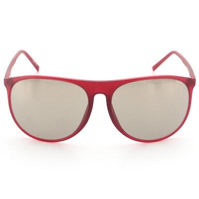 Porsche Design P'8596 Oversized Sunglasses with Case