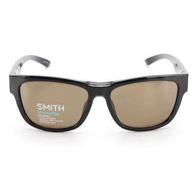 Smith Ember ChromaPop Polarized Sunglasses in Black with Slip Case and Box