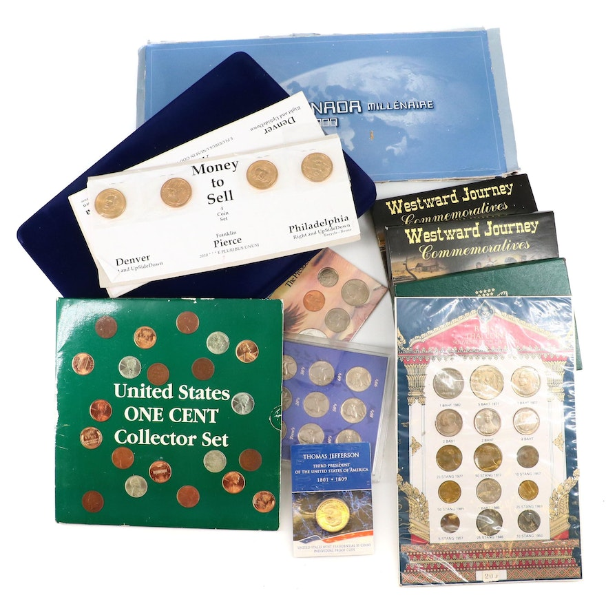 Group of U.S. and Foreign Coin Sets
