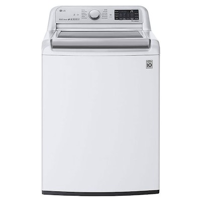 LG 5.5 Cu. Ft. Smart Wi-Fi Enabled Top Load Washer with TurboWash3D™ Technology