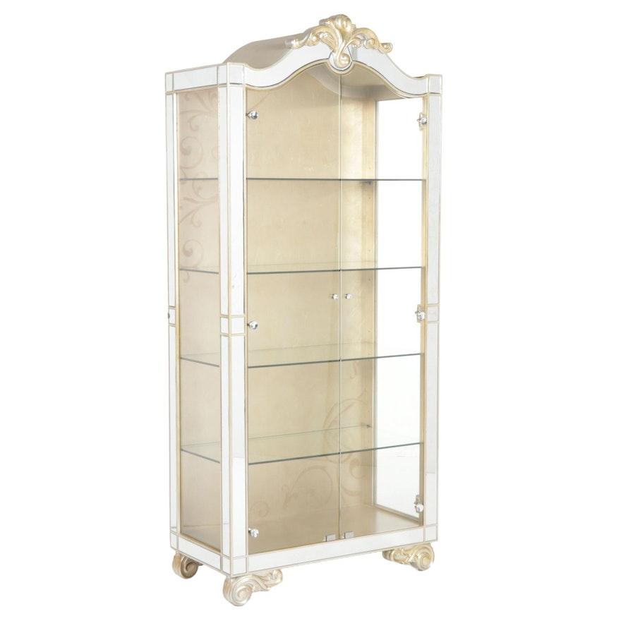 Jessica McClintock for American Drew Illuminated Curio Cabinet