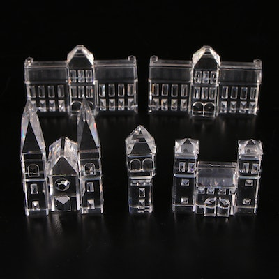 """Swarovski """"Cathedral"""", """"City Gates"""", """"Town Hall"""", and More Crystal Figurines"""