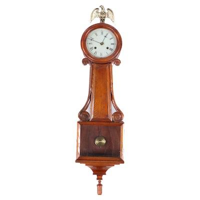 Federal Style Pendulum Wall Clock