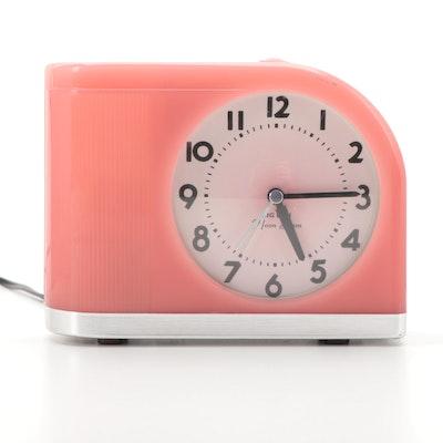 "Westclox  ""Moonbeam"" Mid-Century Modern Alarm Clock"