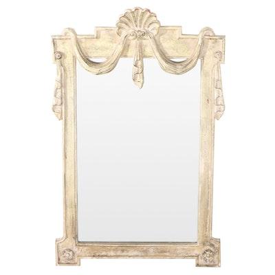 Carolina Mirror Co. Neoclassical Style Gilt Composite Mirror, Late 20th Century