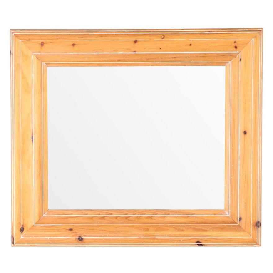 The Uttermost Company Cerused Pine Mirror
