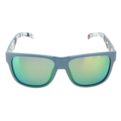 Smith Lowdown Horn-Rimmed Sunglasses with ChromaPop Lenses and Case