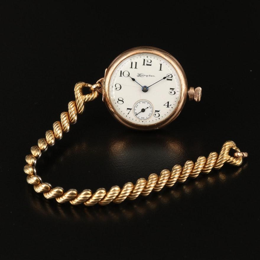 1911 Hampden Convertible Pocket Watch