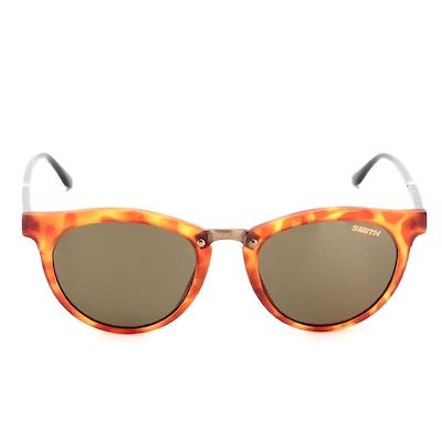 Smith Questa ChromaPop Polarized Sunglasses in Matte Honey Tortoise with Case