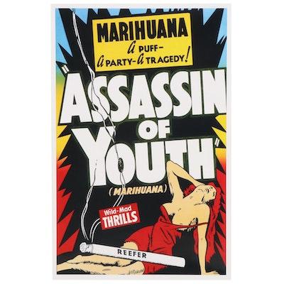 "Marijuana Propaganda Film Giclée ""Assassin of Youth,"" 21st Century"