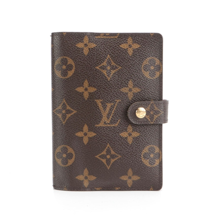 Louis Vuitton Agenda Cover in Monogram Canvas