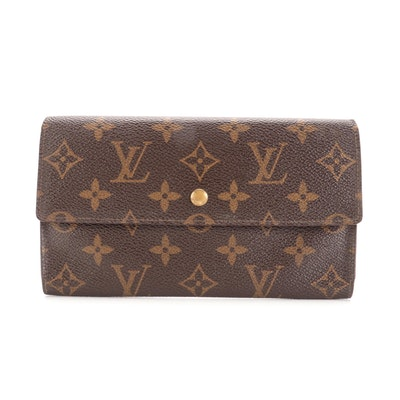 Louis Vuitton Porte-Tresor International Wallet in Monogram Canvas