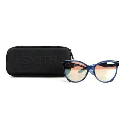 Smith ChromaPop Fairground Sunglasses in Sapphire OXZ with Case