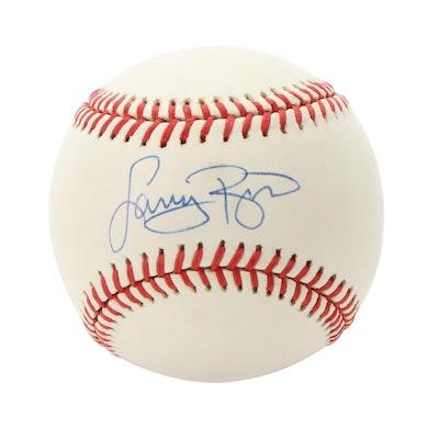 Larry Bird Signed Rawlings Major League Baseball