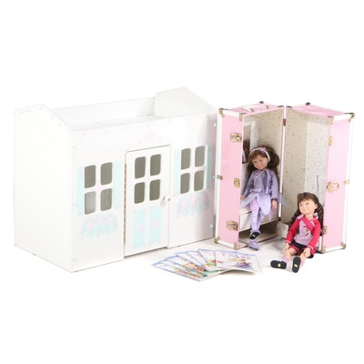 Hopscotch Hill School Books and Doll Collection