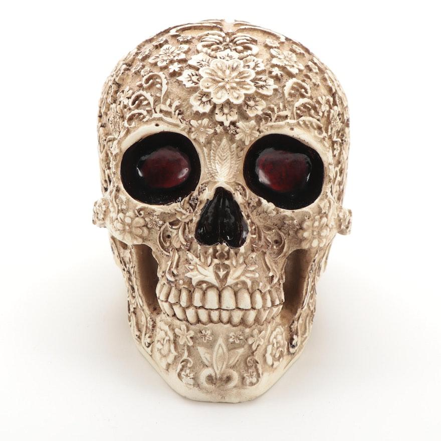 Resin Calavera Skull