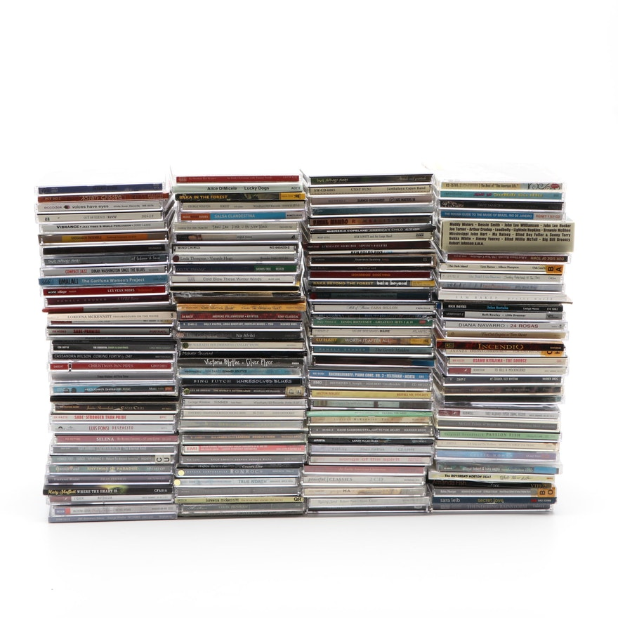 Yo-Yo Ma, Selena, Alison Krauss and Other CDs