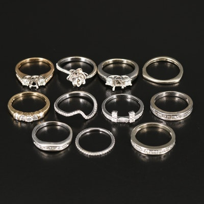 18K, 14K and 10K Ring Selection with 4.15 CTW Diamonds