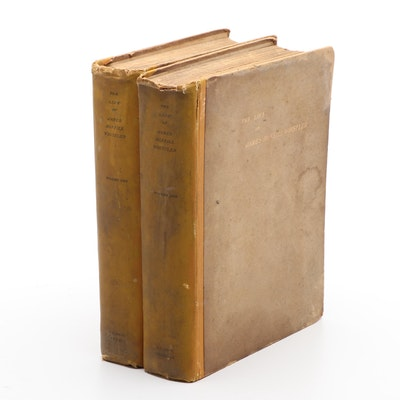 """""""The Life of James McNeill Whistler"""" Two-Volume Set by E. R. and J. Pennell"""