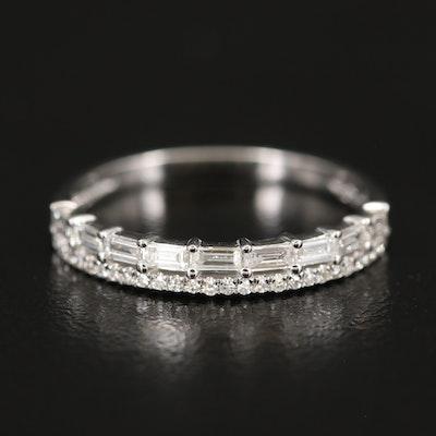 EFFY 14K WHITE GOLD DIAMOND RING