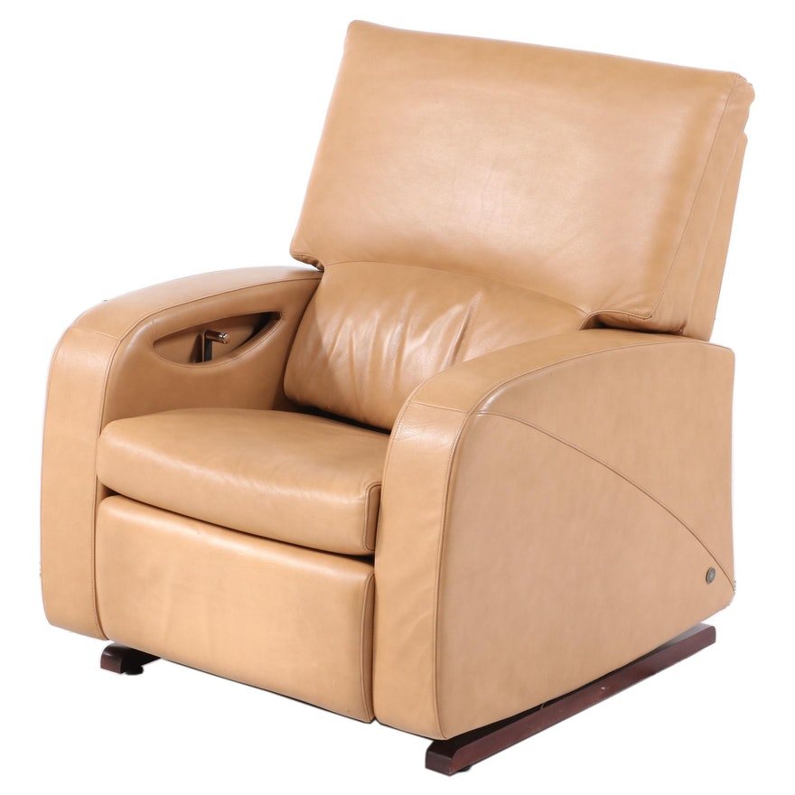 American Leather Manual Reclining Lounge Chair