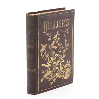 """Illustrated """"The Works of Edward Bulwer Lytton"""" Vol. VII, Late 19th Century"""