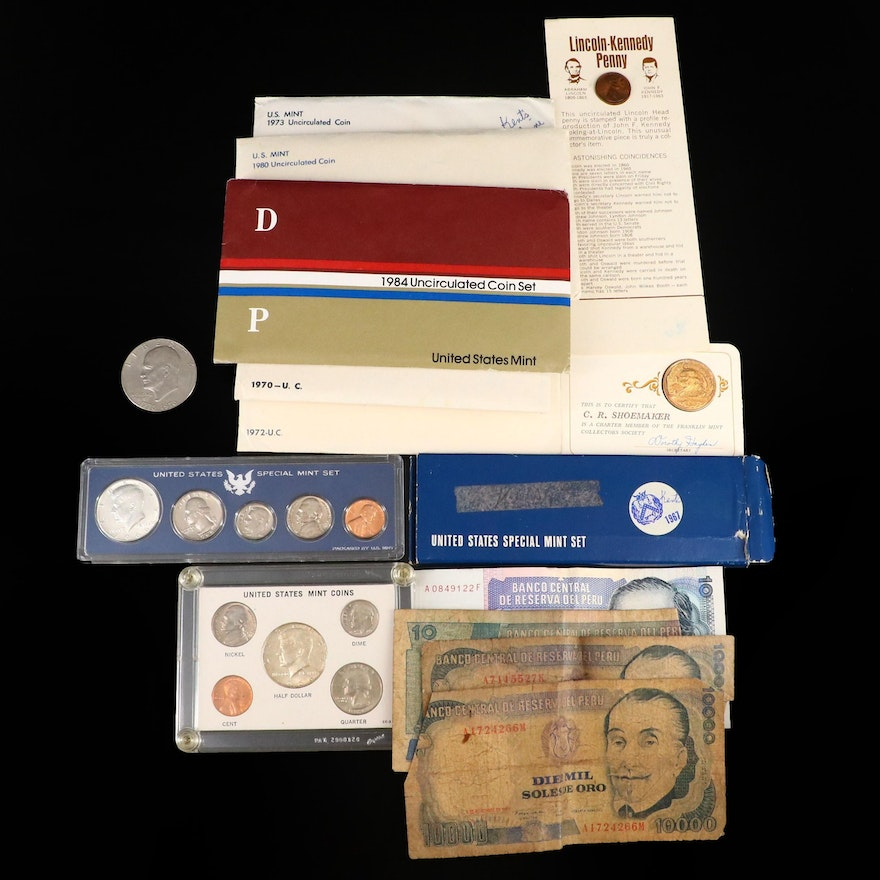 Eight U.S. Coin Sets and More