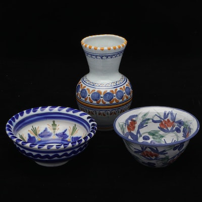 Talevera El Carmen and Other Pottery