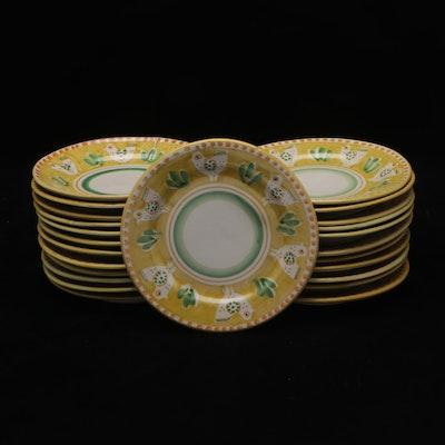 Ceramica Solemene Hand Painted Plates